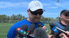 Bombers being positive about scraps in practice
