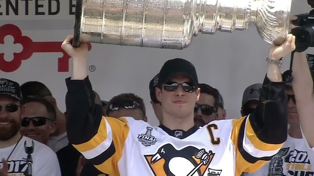 Crosby grateful for fans' support