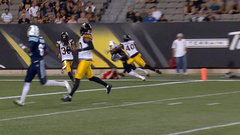 CFL Must See: Johnson makes amazing one-handed TD catch
