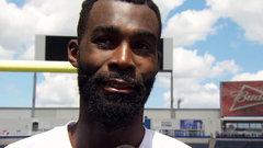 Bombers' Washington gets emotional reflecting on his long football journey