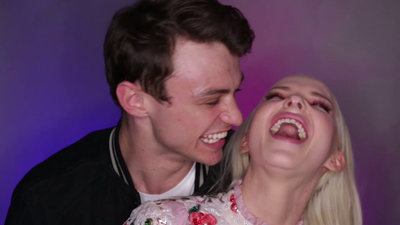 Much Confessional: Dove Cameron Brings Boyfriend Thomas Doherty to MMVAs