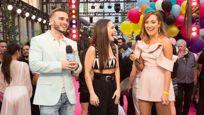 Bea Miller at her very first iHeartRadio MMVA show
