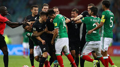 Must See: Big brawl breaks out between Mexico/New Zealand in injury-time