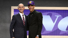 Lakers draft Ball second overall