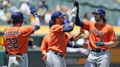 MLB: Astros 12, Athletics 9