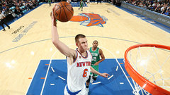 Knicks asking Celtics for two first round picks for Porzingis