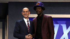Suns select Jackson fourth overall