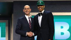 Celtics take Tatum with third overall pick