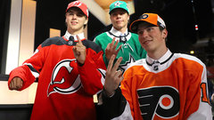 Devils take Hischier No. 1; Patrick goes second to Flyers