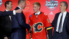 Valimaki thinks he'll be a great fit on Calgary's blue line