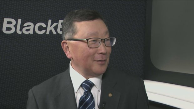 'I'm cheap': Why Blackberry's John Chen won't be overpaying for acquisitions anytime soon