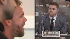 Saunders crashes GGG-Canelo press conference