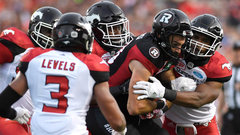CFL: Stampeders 31, Redblacks 31 (OT)