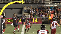 Criner puts Redblacks back in front