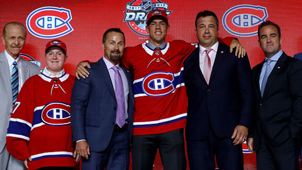 Canadiens select C Poehling with pick No. 25