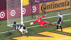 Must See: Ousted preserves Whitecaps' draw with goal line save