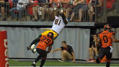 CFL Must See: Williams makes incredible leaping grab for the major