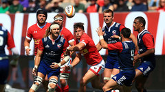Rugby: USA 28, Canada 28 (First Leg)