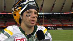 Konar on wild Eskimos win: 'You gotta keep grinding the whole game'