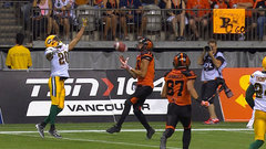 CFL Must See: Jennings unloads 62-yard completion to set up tying TD