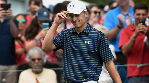 TaylorMade Golf Must See: Spieth's incredible bunker shot wins Travelers