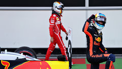 Hamilton and Vettel sound off after collision at Azerbaijan GP