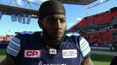 Green believes Argos receivers could be best in CFL