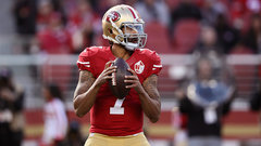 Is Kaepernick too good to be a backup?
