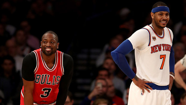 Salley wouldn't bet against Cavs superteam with Melo, Wade and PG-13