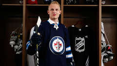 Vesalainen hits the ice for Jets' development camp