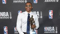 Westbrook wins NBA MVP Award
