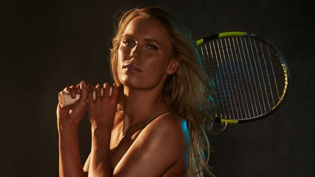 Wozniacki serves strong in 2017 Body Issue