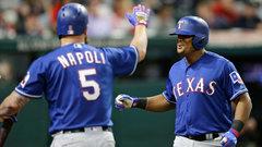 MLB: Rangers 2, Indians 1