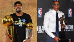 Durant and Westbrook take different paths to MVP