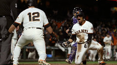 MLB: Rockies 3, Giants 4 (14)