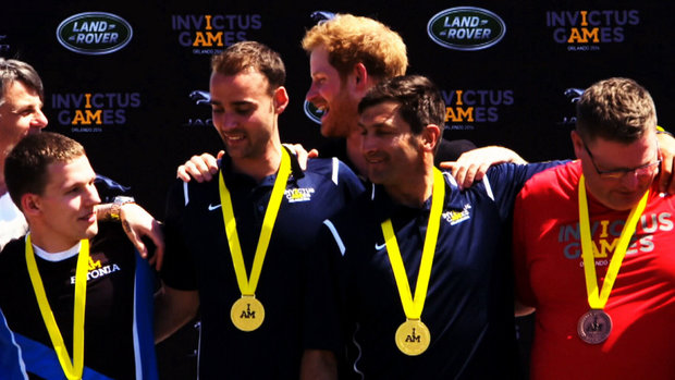 At Invictus games, victories have a meaning far beyond medals