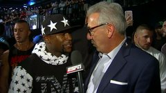 Mayweather: I'm the biggest name in MMA and boxing