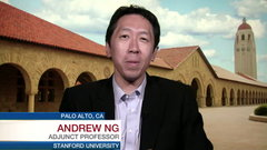 BNN speaks with AI visionary Andrew Ng, adjunct professor at Stanford University. He talks about Google Brain, Alphabet's initial AI...