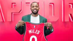Three-point specialist Miles fills immediate need for Raptors