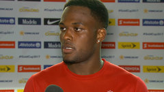 Larin: ' I want to get in there, I want to play'