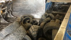 Researchers recycle tires to strengthen and clean up concrete
