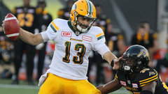CFL: Eskimos 31, Tiger-Cats 28