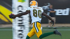 Eskimos' Mitchell hauls in first career CFL touchdown