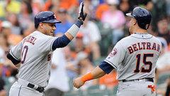 MLB: Astros 8, Orioles 7