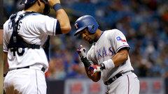 MLB: Rangers 4, Rays 3 (10)