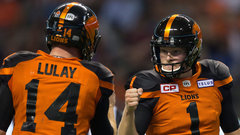 CFL: Blue Bombers 42, Lions 45