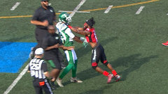 CFL Must See: Bell, Carter get heated prior to game