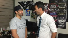 Malignaggi enjoyed the trash talking with Conor