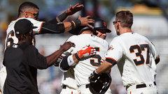 MLB: Padres 4, Giants 5 (12)