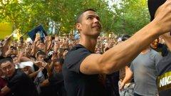 Ronaldo brings the heat in Shanghai